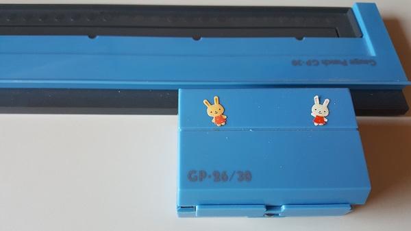 30個穴を開けられるカール事務器 ゲージパンチ GP-30
